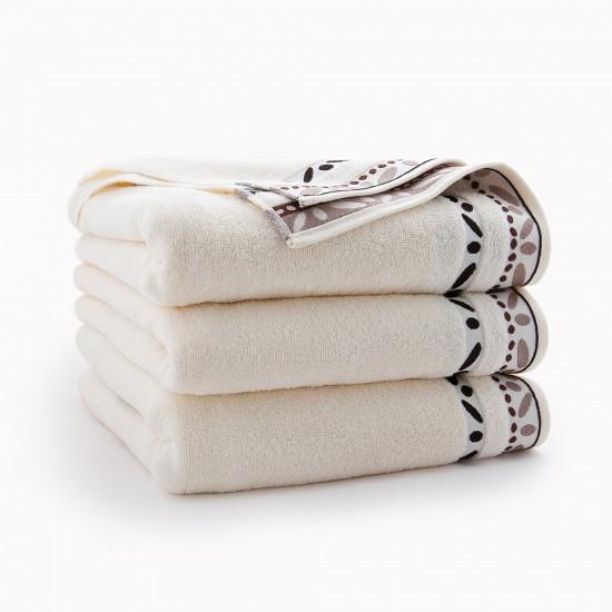 Ręcznik bawełniany beżowy Arabica Ecru