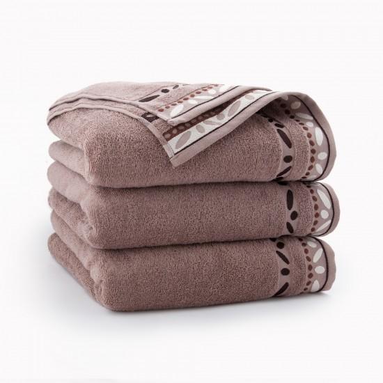 Ręcznik bawełniany brązowy Arabica Cynamonowy