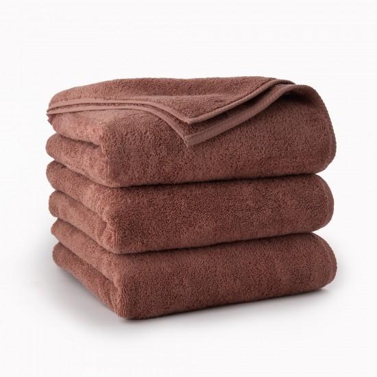 Ręcznik bawełniany  brązowy Kiwi Kakaowy