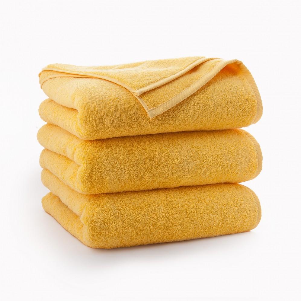 Ręcznik bawełniany żółty Kiwi Żółty