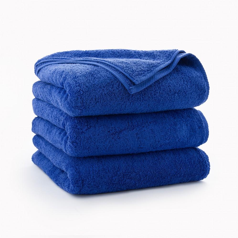 Ręcznik bawełniany niebieski Kiwi Chaber