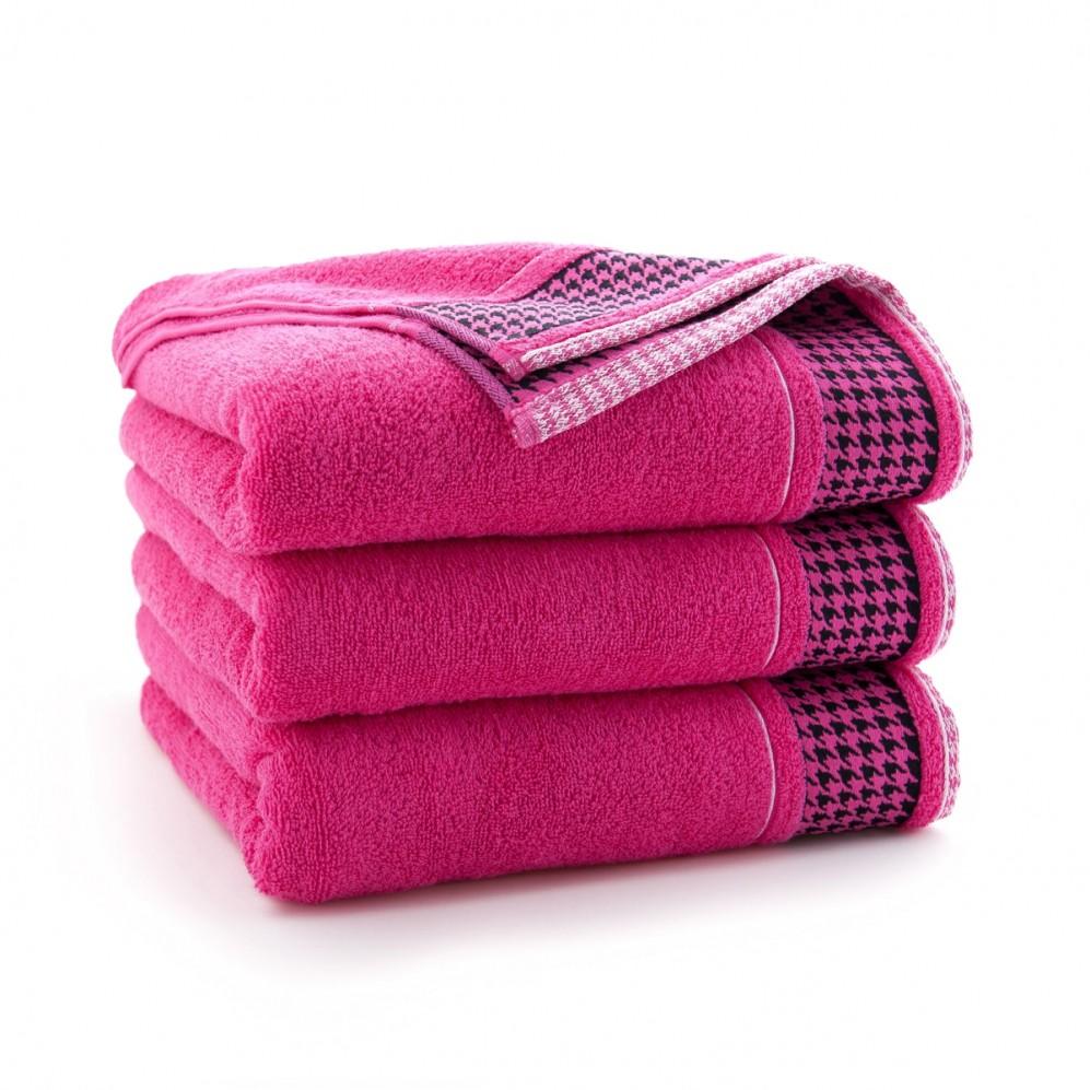 Ręcznk bawełniany różowy Koko Fuksja