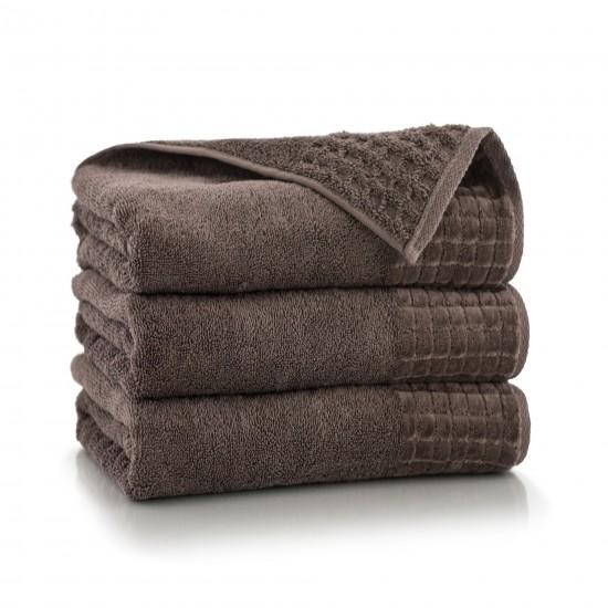 Ręcznik welurowy brązowy Paulo 2 Taupe AG