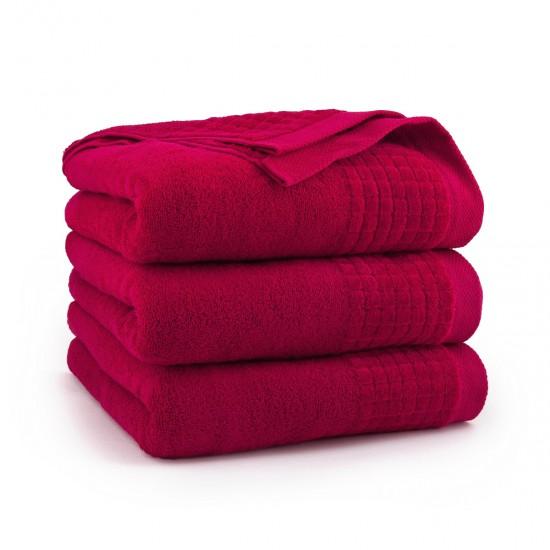 Ręcznik welurowy Paulo 2 Czerwony