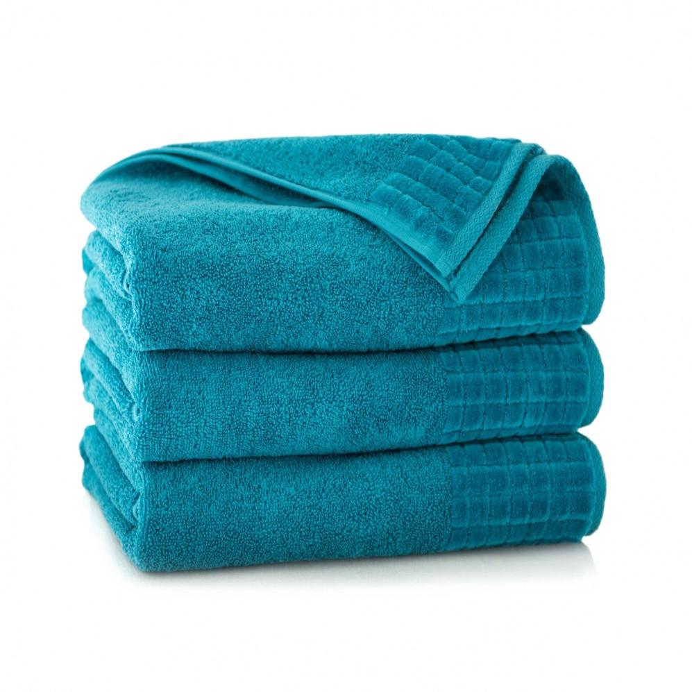 Ręcznik welurowy zielony Paulo 2 Aruba AG