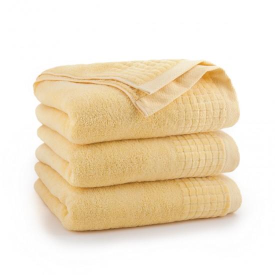 Ręcznik welurowy żółty Paulo 2 Słomkowy