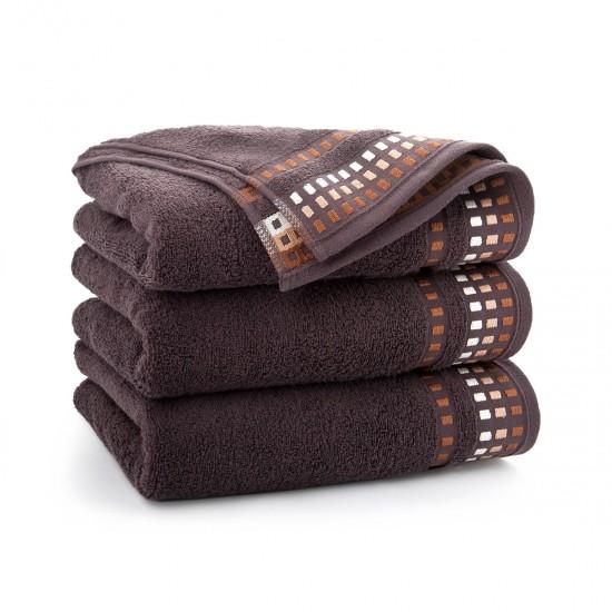 Ręcznik bawełniany brązowy Wena Gorzka Czekolada