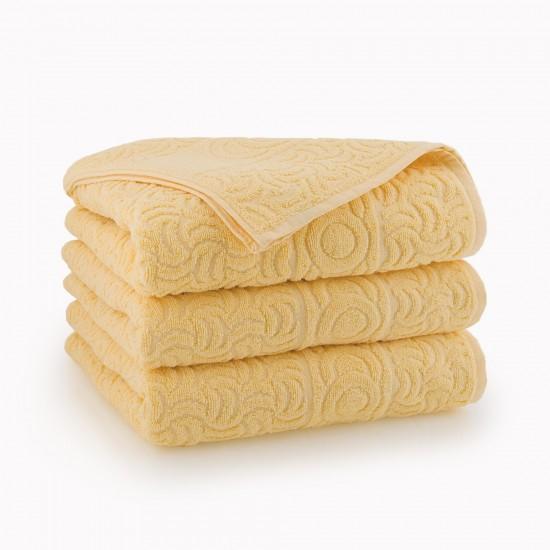 Ręcznik bawełniany żółty Morwa Słomkowy