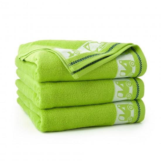 Ręcznik dla dzieci Autoboty Zieleń Fluorescencyjna