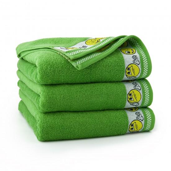 Ręcznik dla dzieci Emotikony Trawiasty