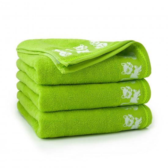 Ręcznik dla dzieci Kiti Zieleń Fluorescencyjna