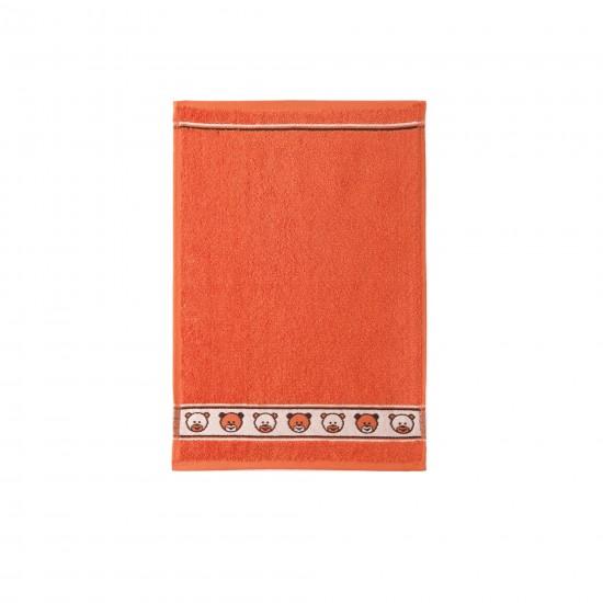 Ręcznik dla dzieci Miś Oranż
