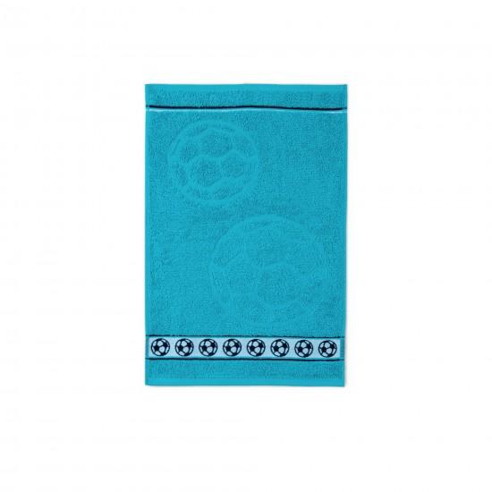 Ręcznik dla dzieci Piłka Turkus