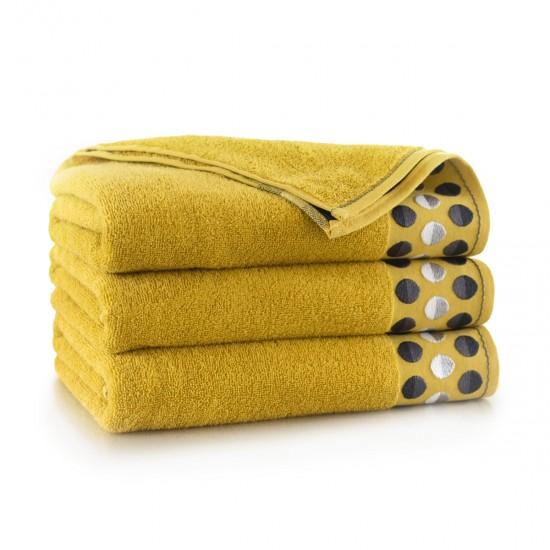 Ręcznik bawełniany żółty Zen Asparagus