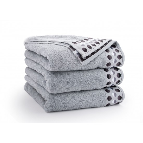 Ręcznik bawełniany Zen Jasny Grafit