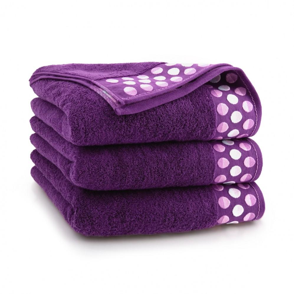 Ręcznik bawełniany Zen Śliwkowy