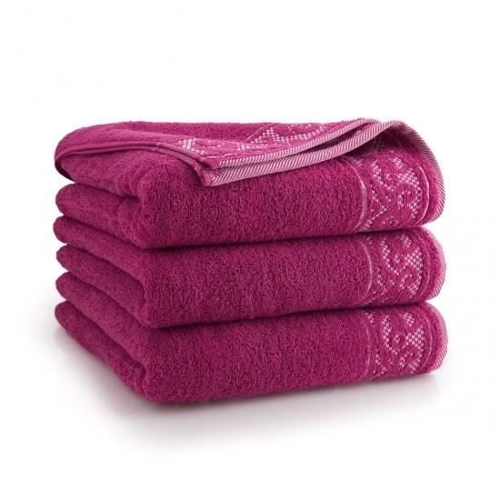 Ręcznik bawełniany Inspiro Amarant