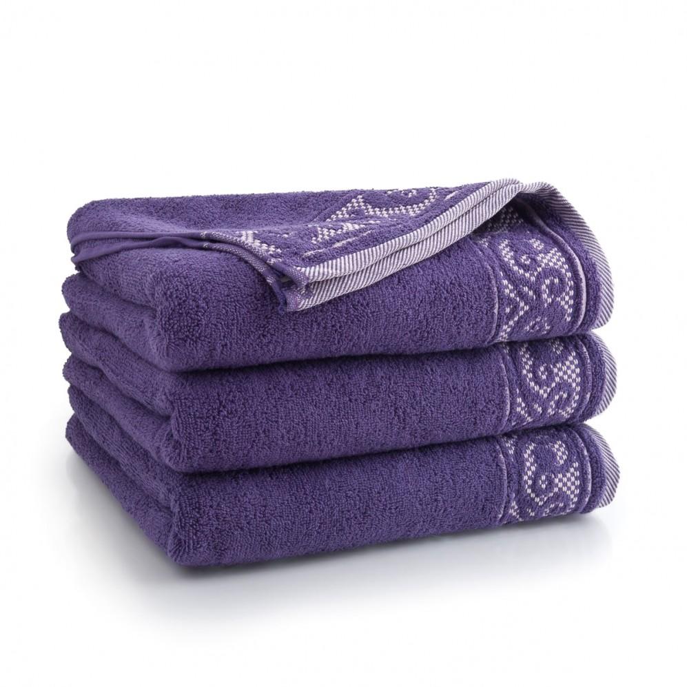 Ręcznik bawełniany Inspiro Wrzosowy