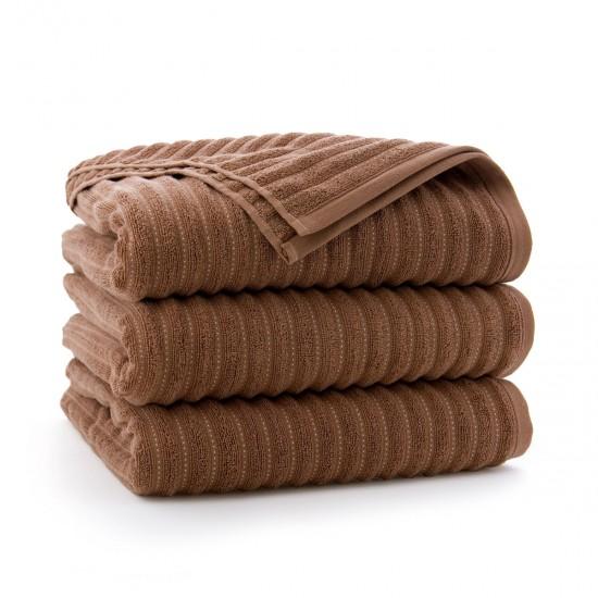 Ręcznik bawełniany brązowy Pasja Mokate