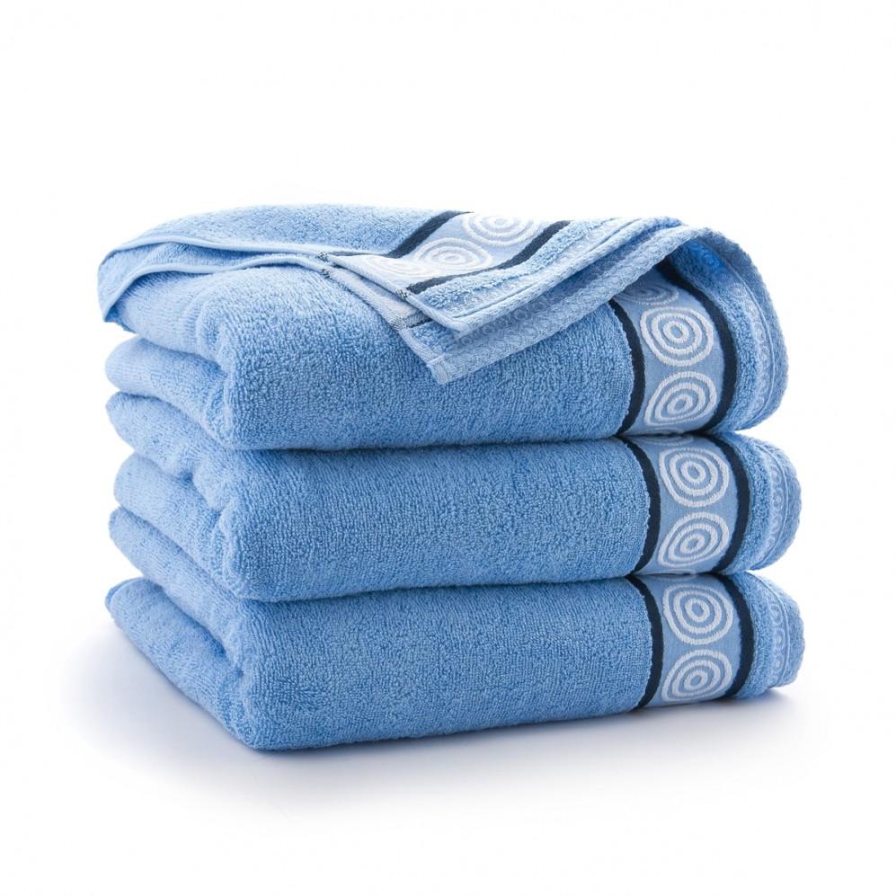Ręcznik bawełniany Rondo Niebieski