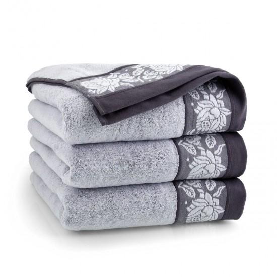 Ręcznik bawełniany Karif Szary