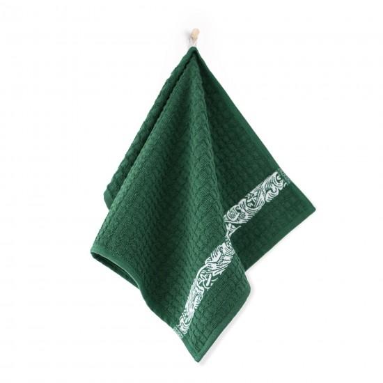 Ręcznik kuchenny Ornament Zielony