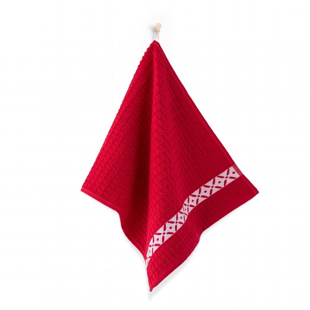 Ręcznik kuchenny Skrzydełka Czerwony