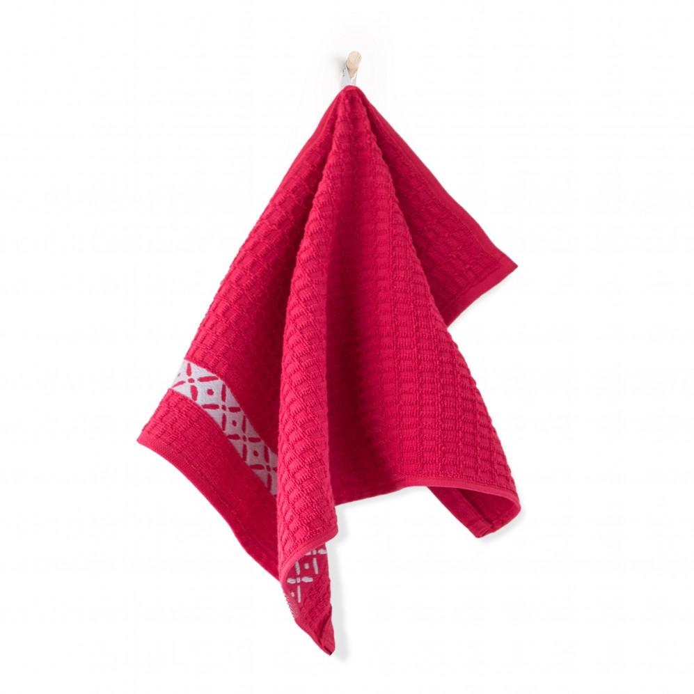 Ręcznik kuchenny Skrzydełka Malinowy