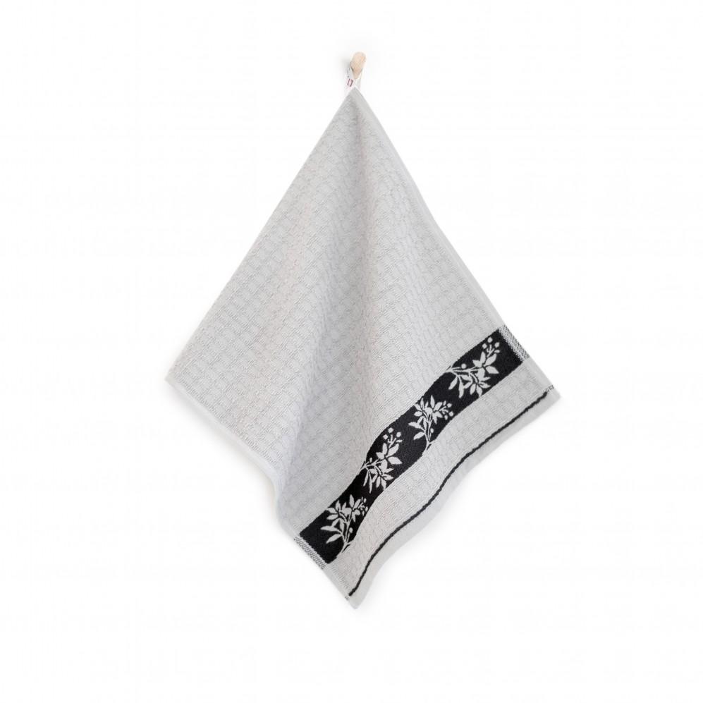 Ręcznik kuchenny Jarzębina Szary