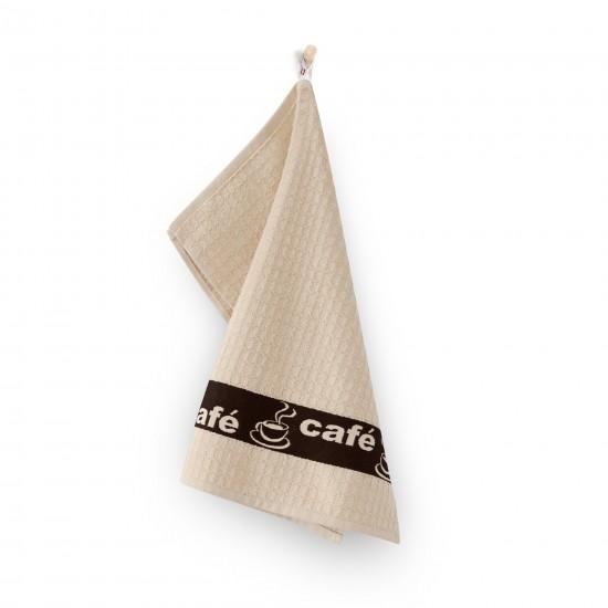 Ręcznik kuchenny Cafe Beżowy