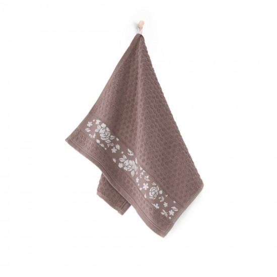 Ręcznik kuchenny beżowy Roza Tabaka