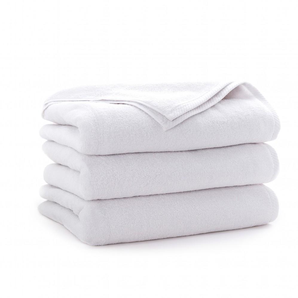 Ręcznik bawełniany Hotel Basic Biały