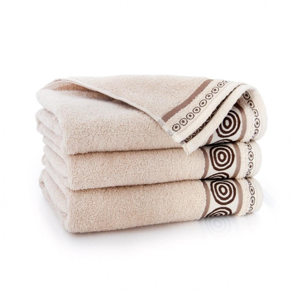 Ręcznik bawełniany Rondo Beż