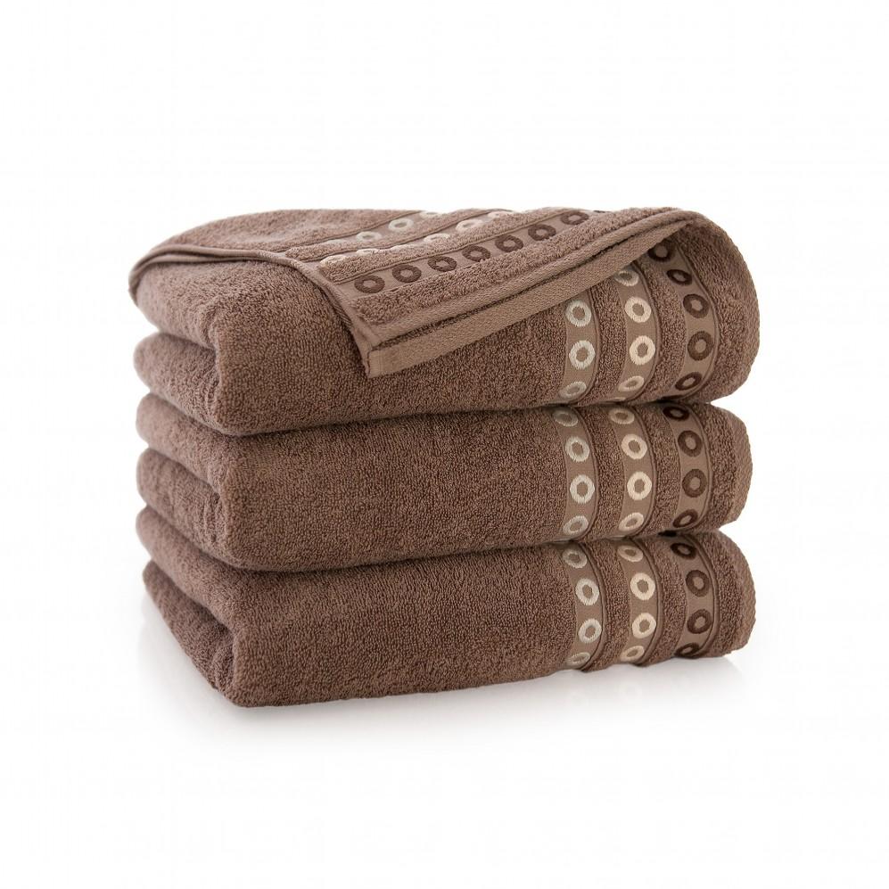 Ręcznik bawełniany Perła Cynamonowy