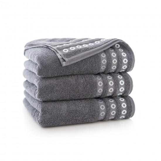 Ręcznik bawełniany Perła Grafit