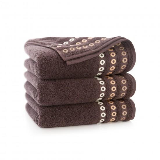 Ręcznik bawełniany Perła Gorzka Czekolada