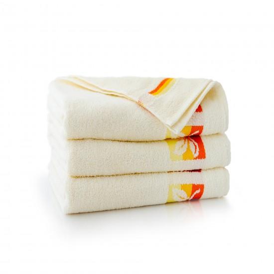 Ręcznik bawełniany Fraza 9 Ecru