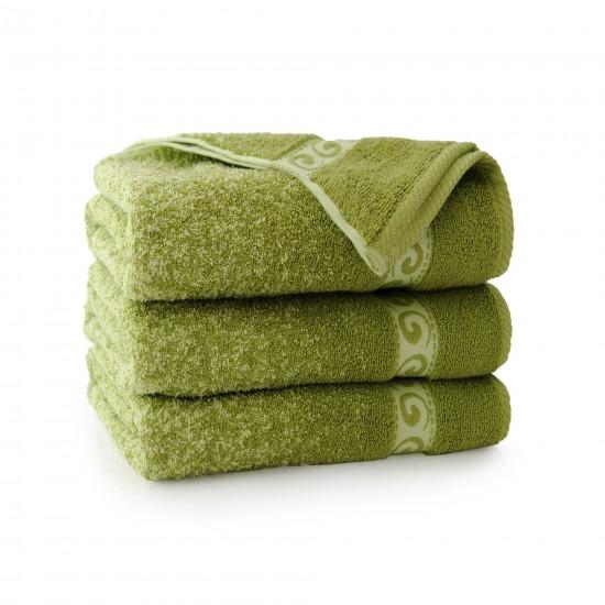 Ręcznik bawełniany Pianola Oliwkowy
