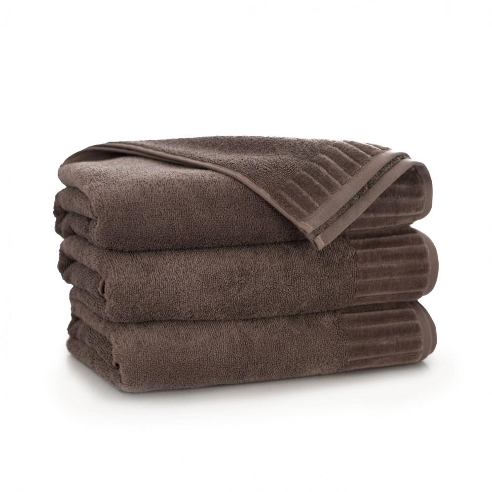 Ręcznik bawełniany brązowy Pacyfik Taupe AG