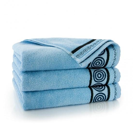 Ręcznik bawełniany Rondo Błękit