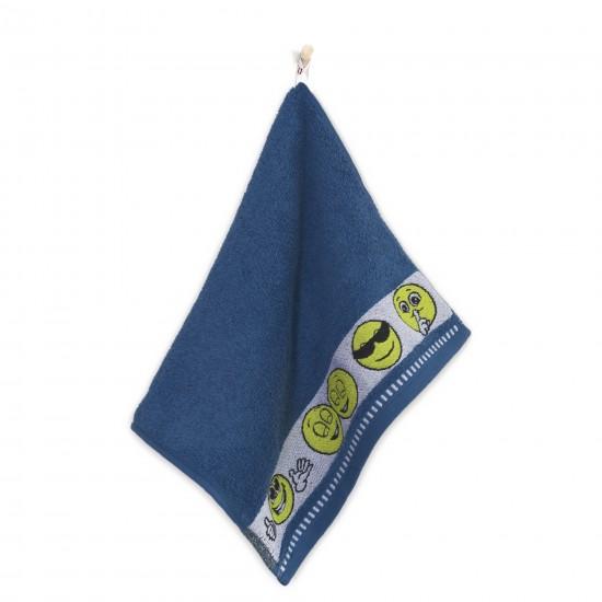 Ręcznik dla dzieci Emotikony Jeans