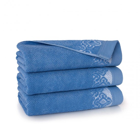 Ręcznik bawełniany Carmen Marynarski
