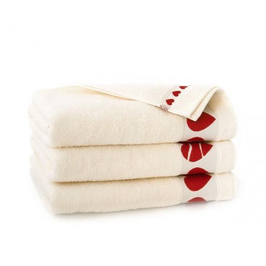 Ręcznik bawełniany Neo Cardio Ecru
