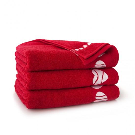 Ręcznik bawełniany Neo Cardio Czerwona