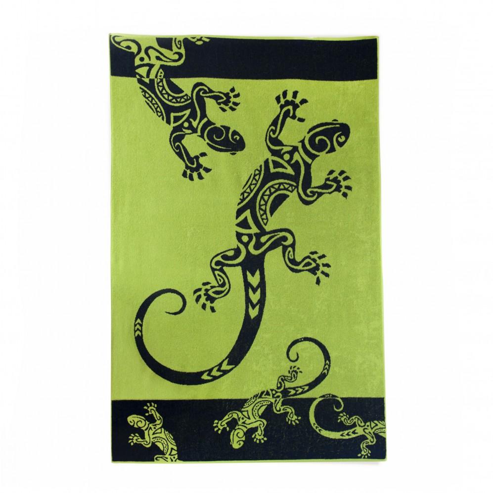 Ręcznik plażowy Legwan Zielony