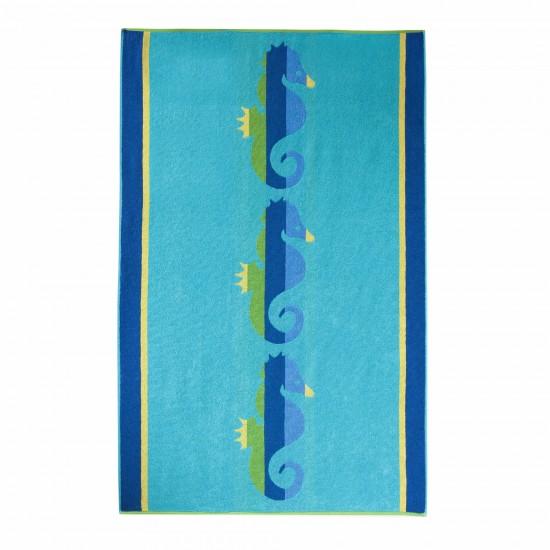 Ręcznik plażowy Legwan Turkusowy
