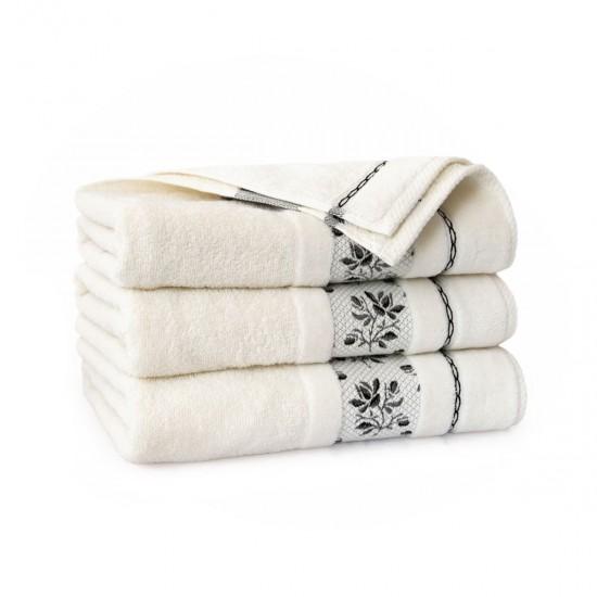 Ręcznk bawełniany Azalia Kremowy