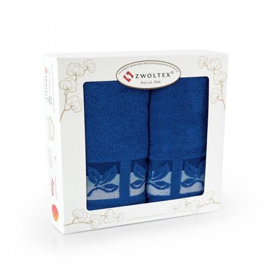 Komplet ręczników bawełnianych niebiecki Fraza 9 Chaber
