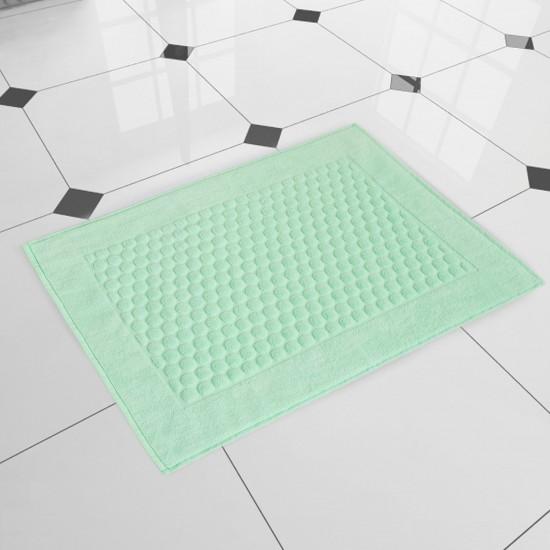 Dywanik łazienkowy welurowy zielony Stella Akwamaryna