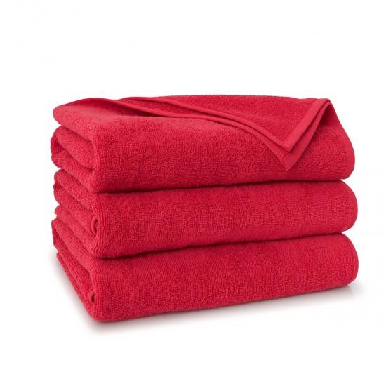 Ręcznik bawełniany Liczy Czerwony